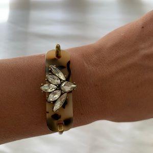 JCrew tortoise/gemstone bracelet